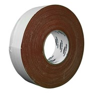 "Saint Gobain Strip-N-Stick 200A Silicone Sponge Tape 9m x 2.38mm (3/32"") 50mm Roll"