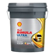 Shell Rimula Ultra 5W-30 Fully Synthetic Heavy Duty Diesel Engine Oil 20Lt Pail