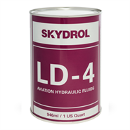 Skydrol LD4 Hydraulic Fluid in various sizes