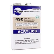 SCIGRIP 4SC Acrylic Plastic Cement 1USP Can