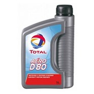Total Aero D 80 Dispersive Monograde Mineral Piston Engine Oil