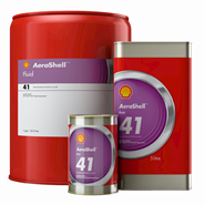 Aeroshell Fluid 41 available in various sizes