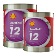 AeroShell Fluid 12 in various sizes