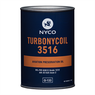 Nyco Turbonycoil 3516 *MIL-PRF-6081D Grd 1010 O-133 in various sizes