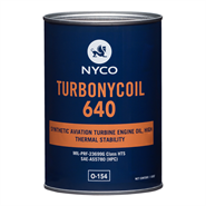 Nyco Turbonycoil 640 in various sizes