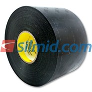 3M 8667HS Polyurethane Protective Tape Skip Slit Liner Black 125mm x 33Mt (5in x 36Yd) Roll