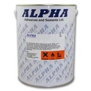 Alpha S1358 High Heat Resistance Brushable Adhesive 5Lt Can