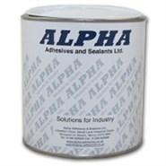 Alpha SAS520 Kit Two Part High Performance Epoxy Paste 1Kg Can