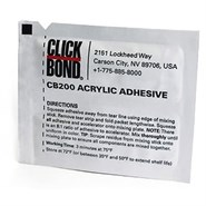 Click Bond CB200 Structural Adhesive 3.5gm Foil Pack (Fridge Storage 2°C-10°C)