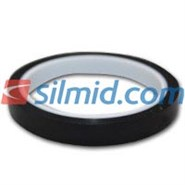 H143B Silicone Adhesive Black Polyimide Tape 12mm X 33Mt Roll