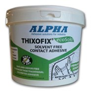Alpha Thixofix Eco A1877 Brushable Contact Adhesive 5Lt Tub