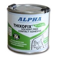 Alpha Thixofix Eco A1877 Brushable Contact Adhesive in various sizes
