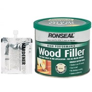 Ronseal High Performance Wood Filler White 275gm