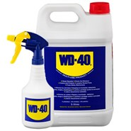 WD-40 Multi-Purpose Lubricant 5Lt Value Pack (Includes Spray Bottle)