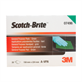 3M Scotch-Brite 7496 Handpad AFIN Grade Light Green 158mm x 224mm (Box of 20)